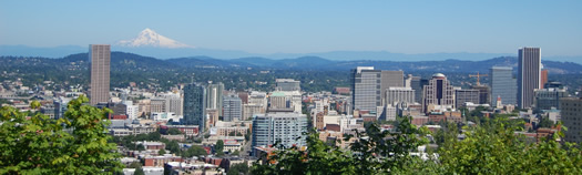 Downtown Portland Skyline
